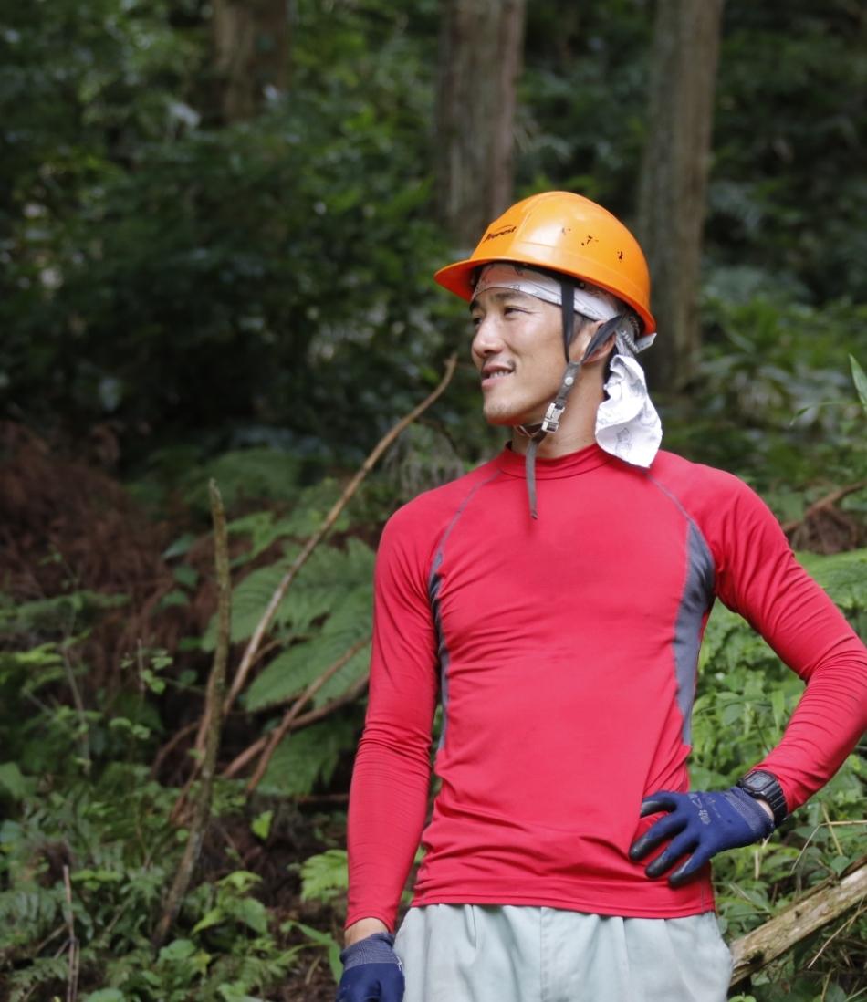 森林の仕事に就くまでに、様々な制度を活用できて安心でした。